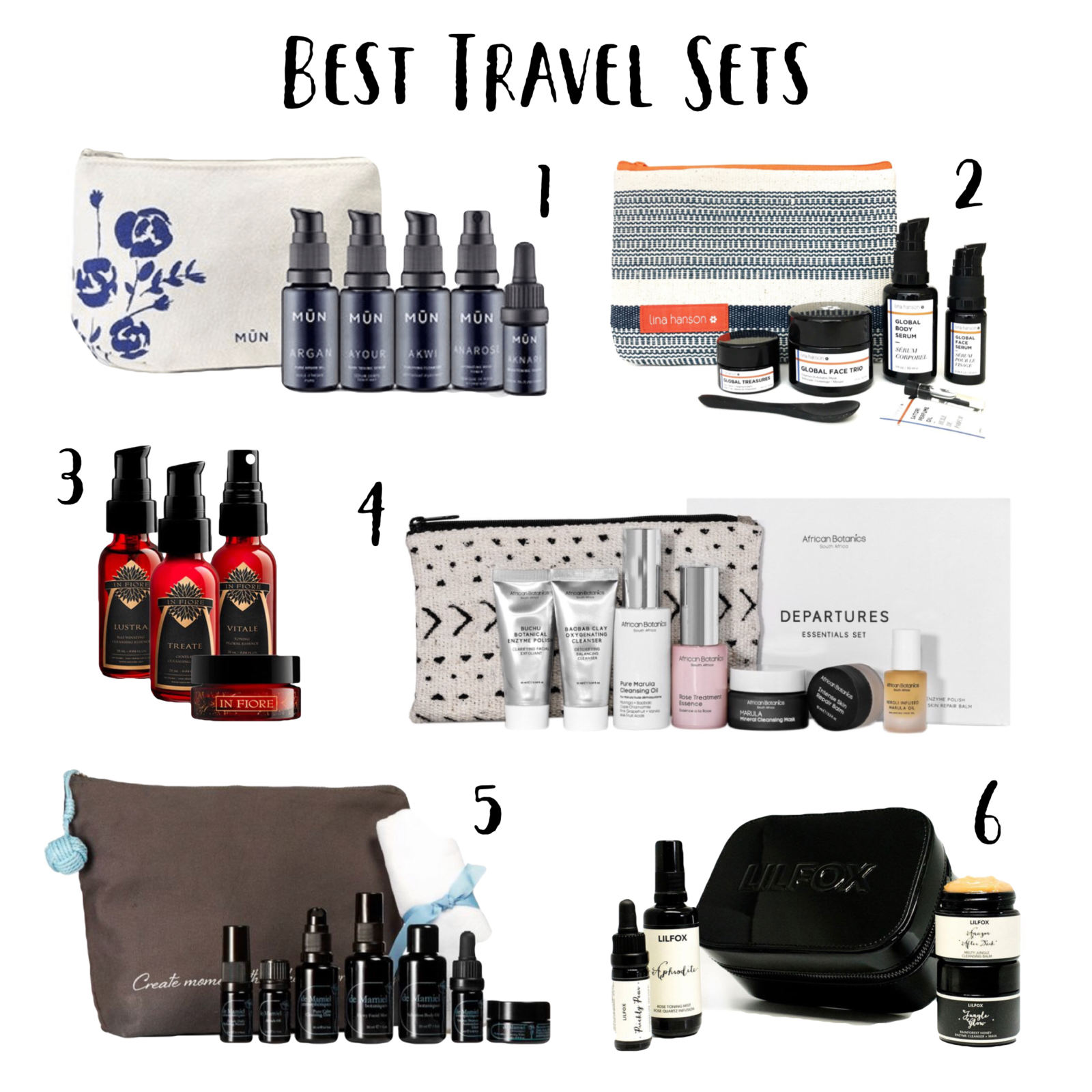 Product Roundup: The Best Travel Sets