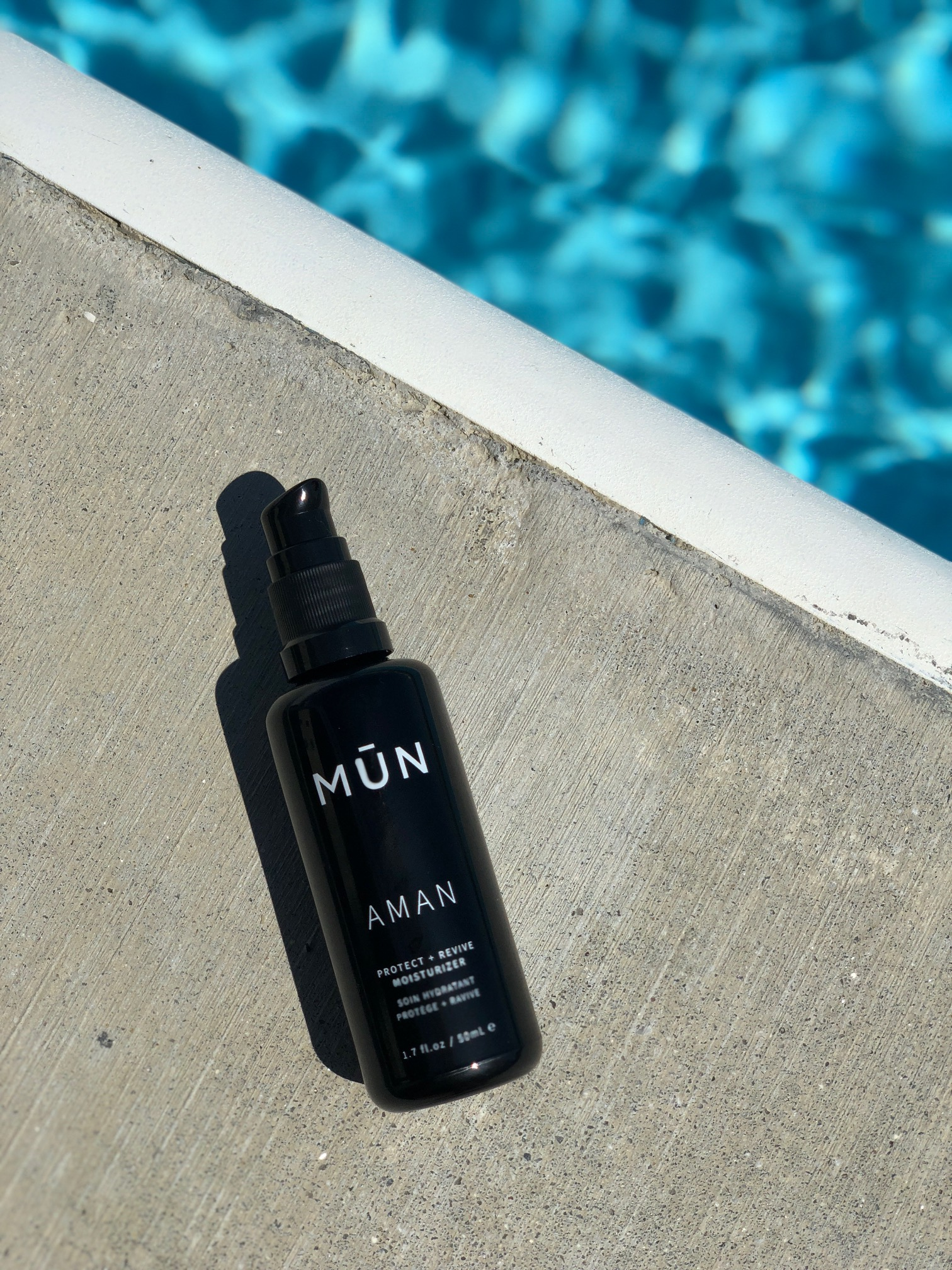 New Product Launch: MŪN AMAN Protect + Revive Moisturizer